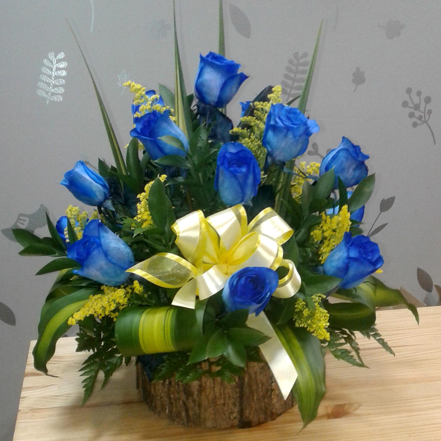 Rosas Azules Flowery Dutch